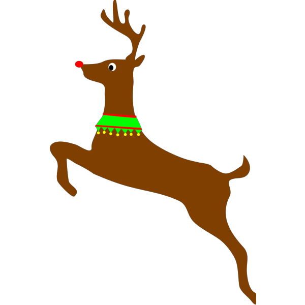 Rudolph The Red Nosed Reindeer  PNG Clip art