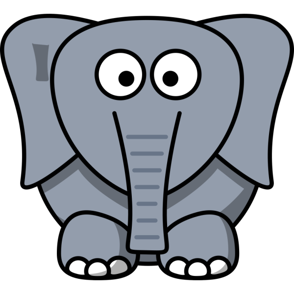 White Elephant PNG icons