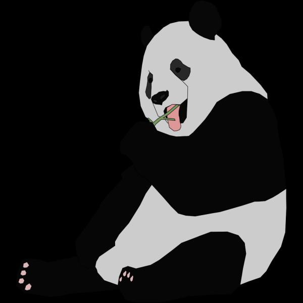 Panda Eating PNG Clip art
