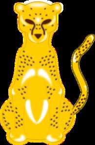 Hunting Leopard PNG Clip art