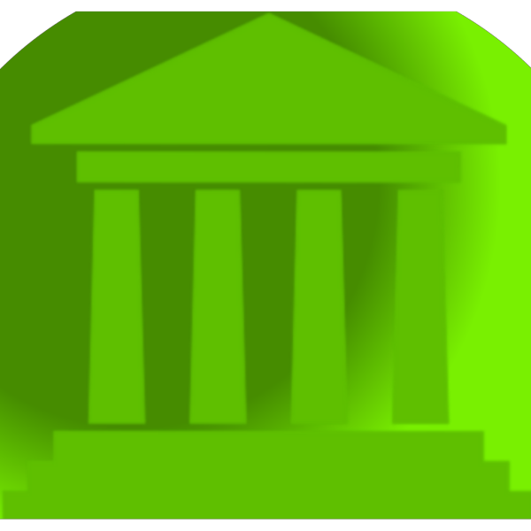 Green Capital Building PNG icons
