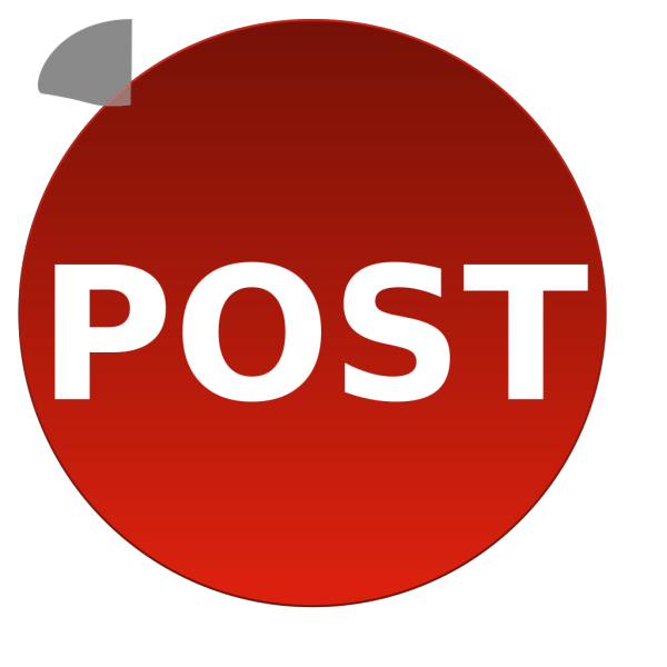 Post Button PNG images