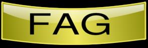 Gold Modfide Faq Buuton PNG Clip art