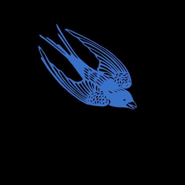 Blueswallow PNG Clip art
