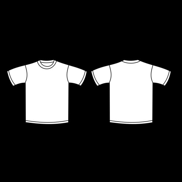 Brown T-shirt Template PNG Clip art