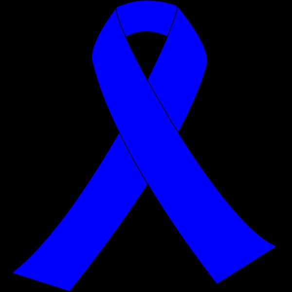 Blue Awareness Ribbon PNG Clip art