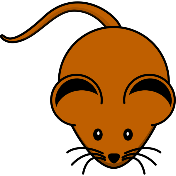 Brown Mouse PNG Clip art