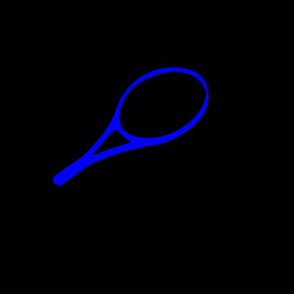 Blue Racket PNG images