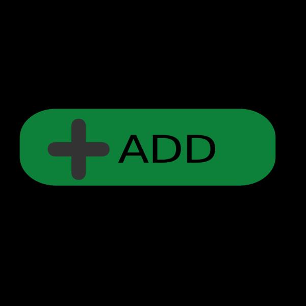 Green Button Add PNG Clip art