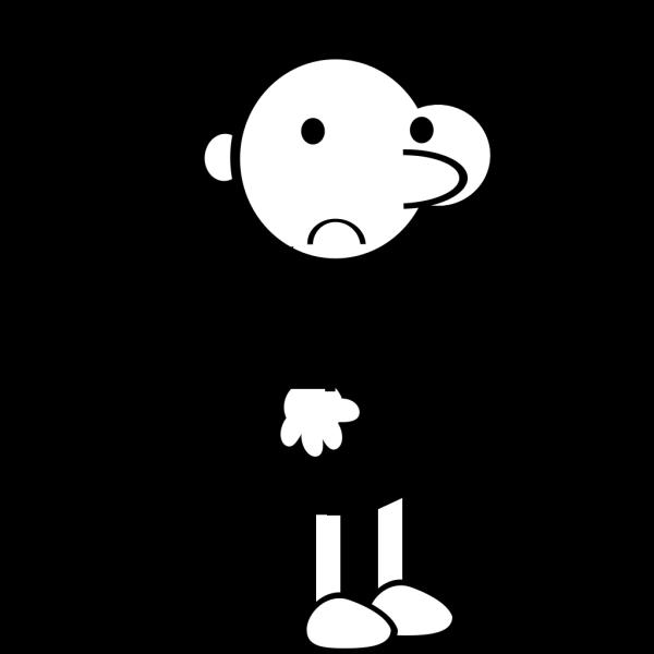 Sad Boy PNG Clip art