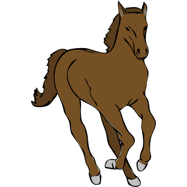 Galloping Horse PNG Clip art