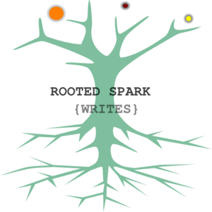 Rooted Spark {writes} PNG Clip art