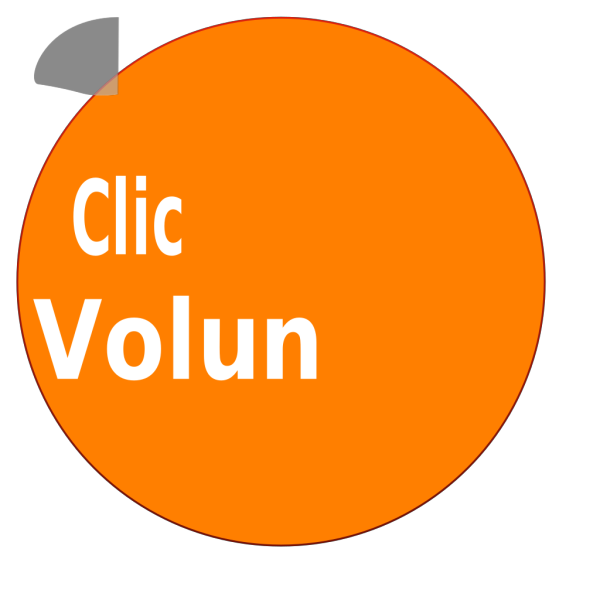 Volunteer Button PNG Clip art
