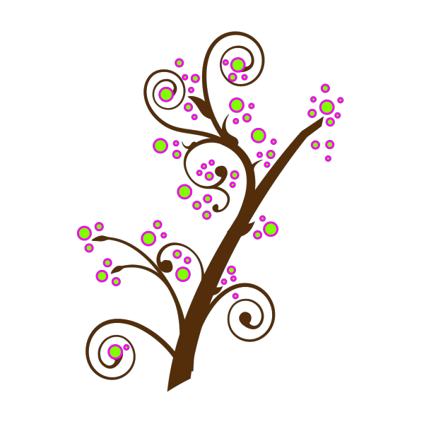 Blooming Tree Branch PNG icons