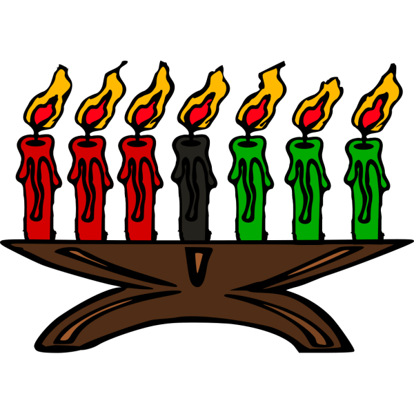 Kwanzaa Candle PNG Clip art