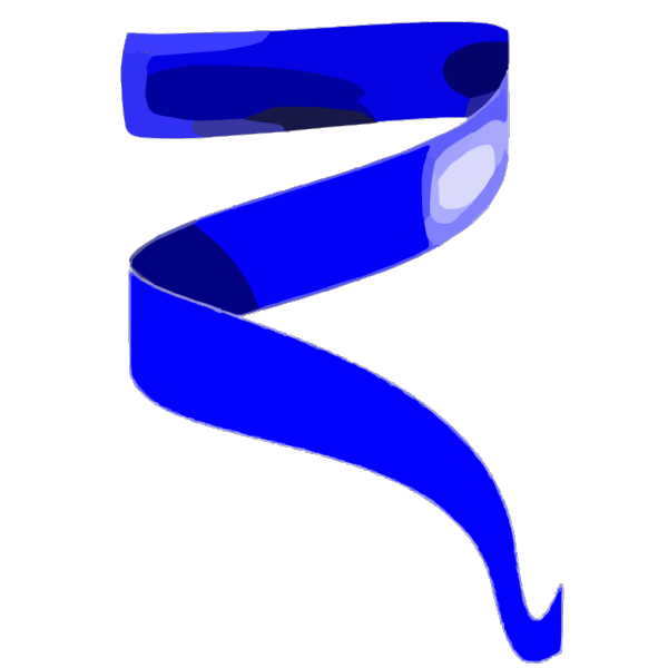 Baby Blue Ribbon PNG Clip art