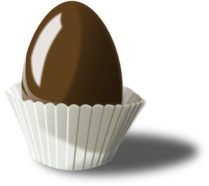 Chocolate Easter Egg PNG icons
