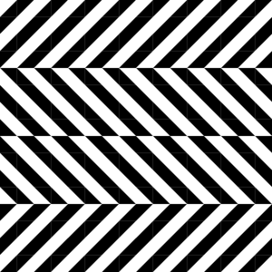 Triangle Optical Illusion