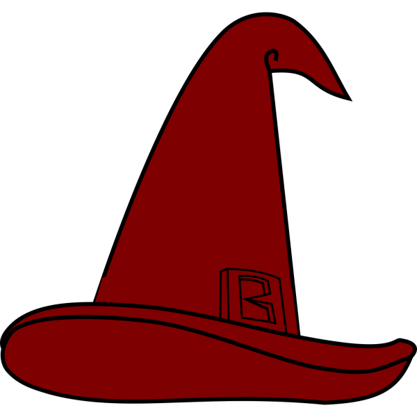 Wizard Hat Brown PNG images