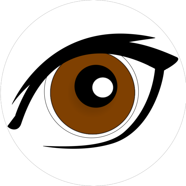 Brown Eye PNG Clip art