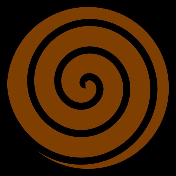 Brown Spiral PNG Clip art