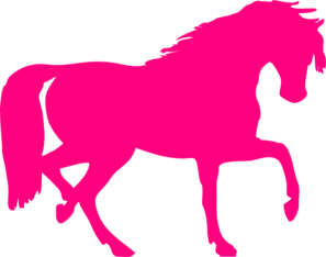 Brown Horse Sillouette clipart