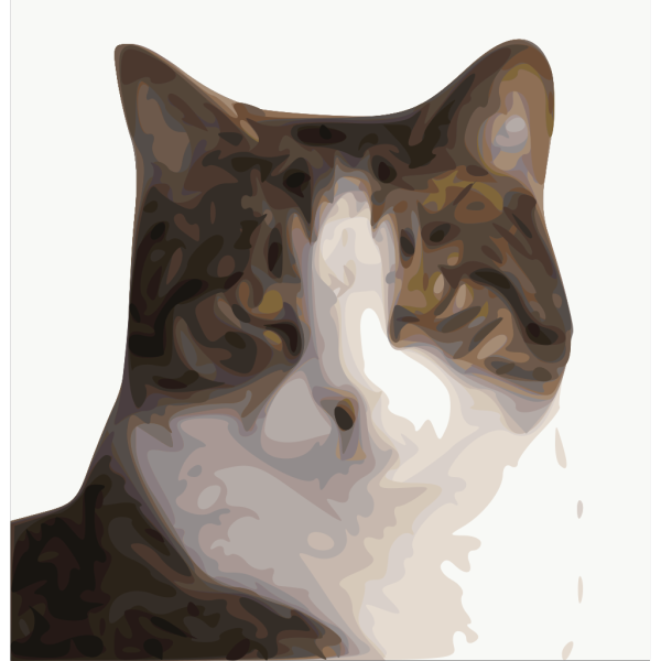 Pet Cat Head PNG Clip art