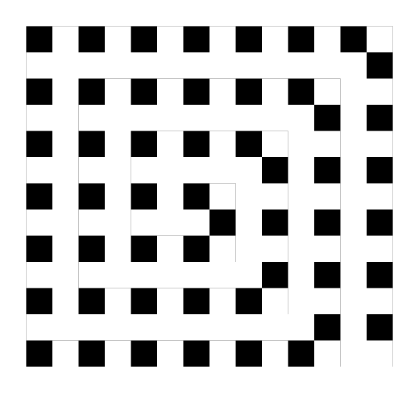 Black And White Maze PNG Clip art