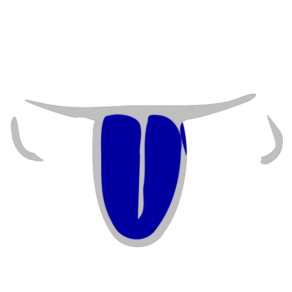 Blue Tongue PNG Clip art