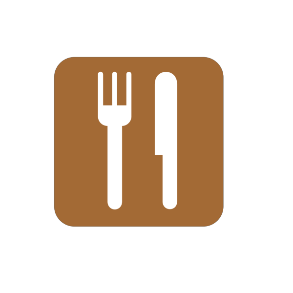 Food Service Brown PNG Clip art