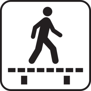 Push Button For Walk Signal PNG Clip art