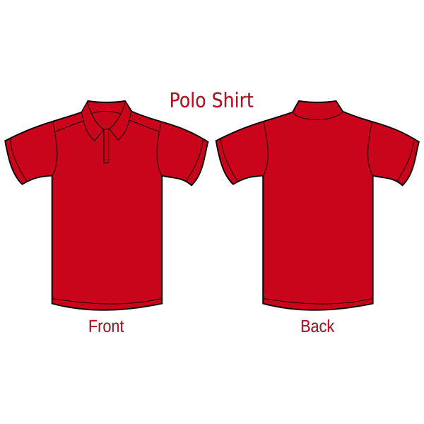 Polo Tshirt Blue PNG images
