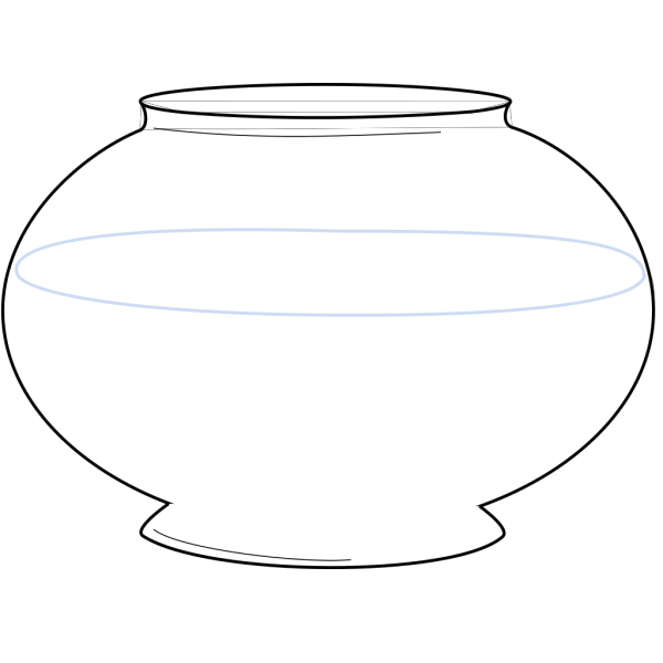 Blank Fishbowl PNG images