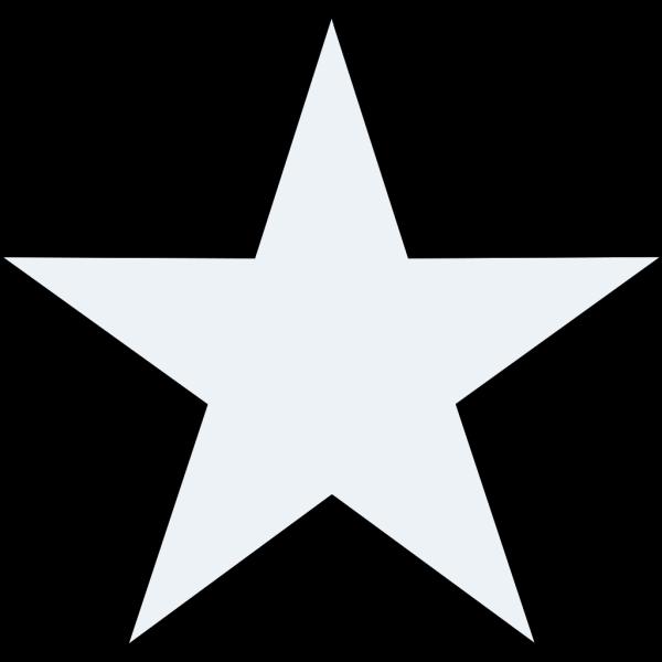 Grey Blue Star PNG Clip art