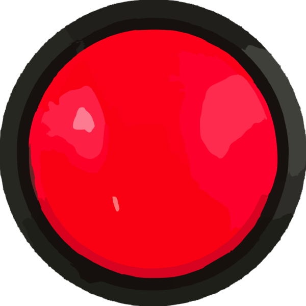 Big Red Button PNG Clip art