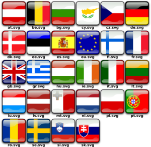 Flag Buttons PNG icons