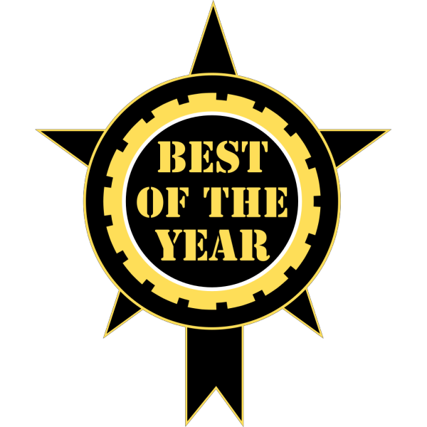 Best Of The Year Sticker PNG Clip art