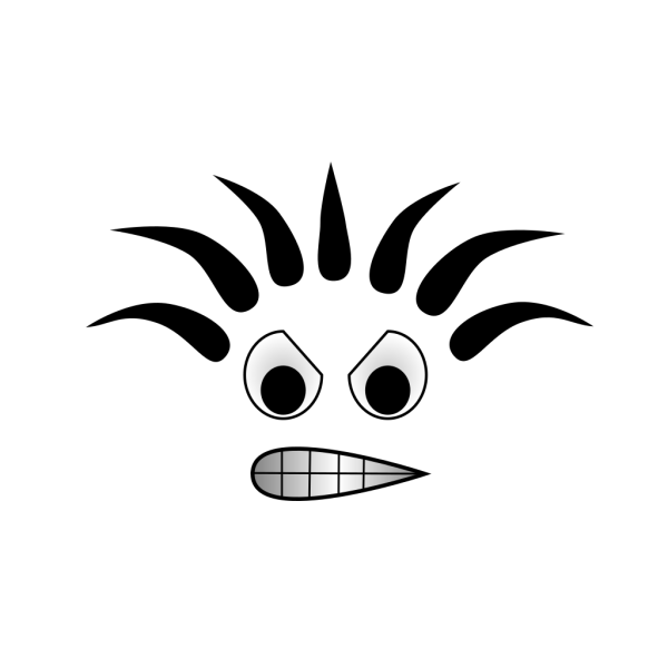 Angry Cartoon Face PNG Clip art