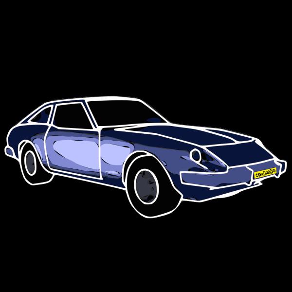 Blue Car PNG images