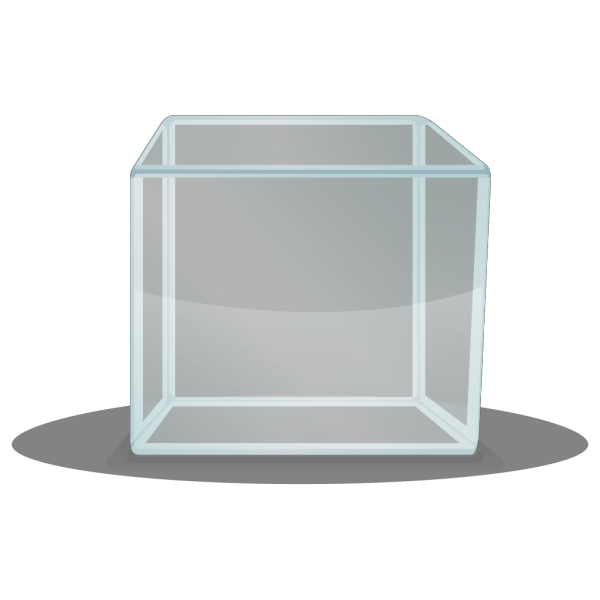 Transparent Cube PNG icon