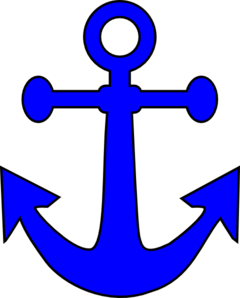 Brown Anchor PNG Clip art