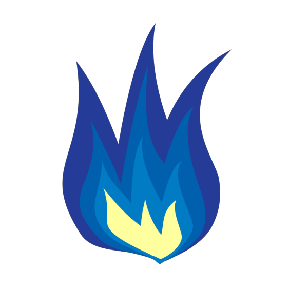 Blue Flame PNG icons