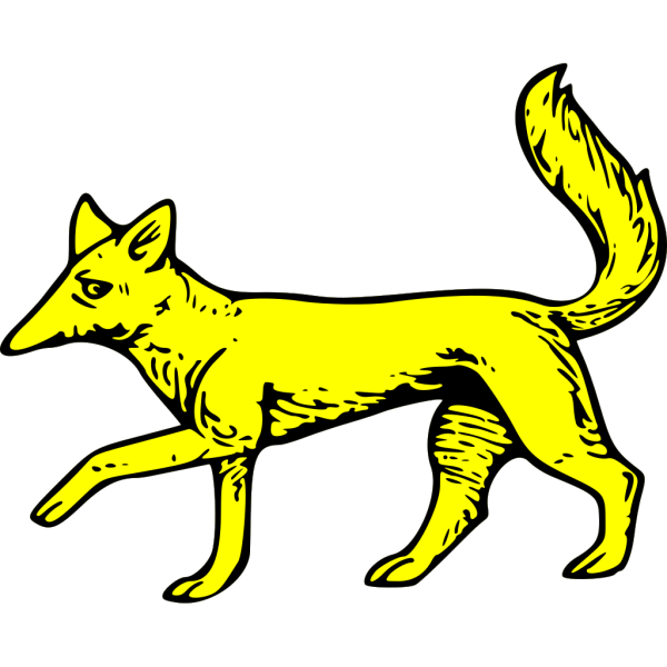 Gold Fox Symbol PNG images