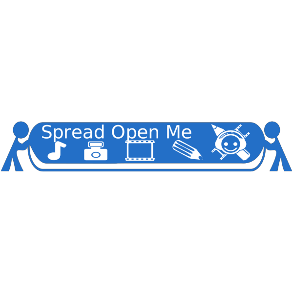 Tomosaur Spreading Open Media X With Text PNG images