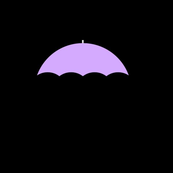 Purple Umbrella PNG Clip art