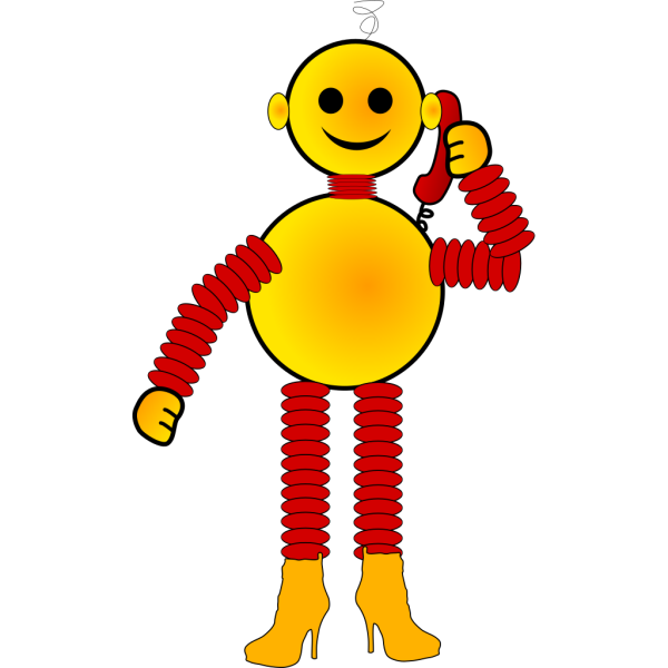 Blue Robot PNG images