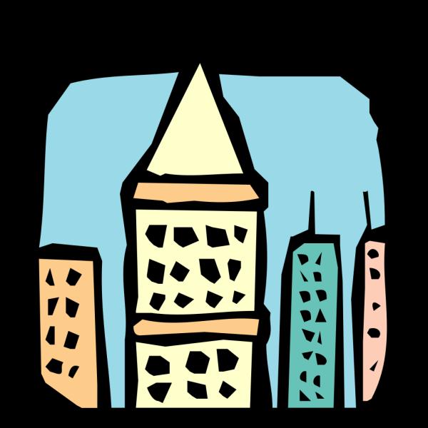 Skyscraper Roofs PNG Clip art