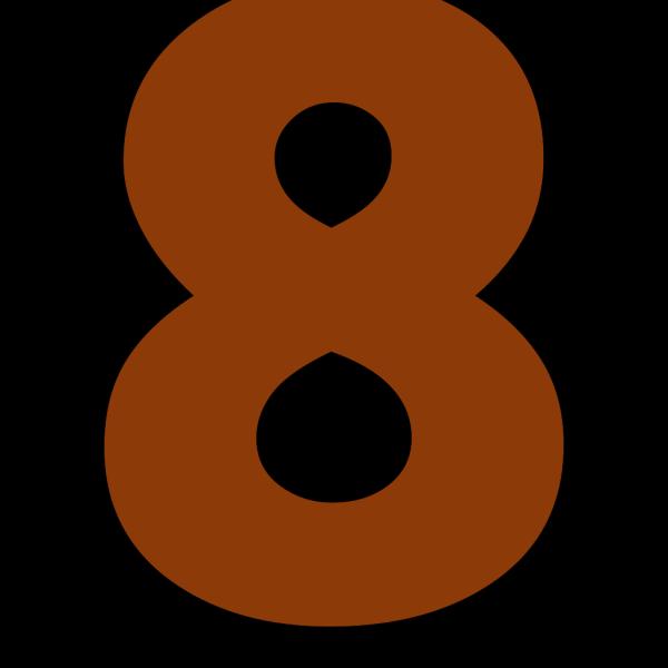 Eight PNG Clip art