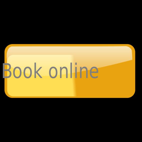 Book Now Orange Button PNG Clip art