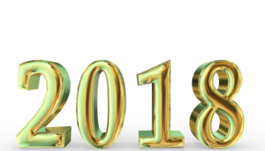 2018 Happy New Year PNG Free Download PNG Clip art